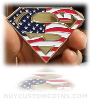 custom military retirement challenge coins