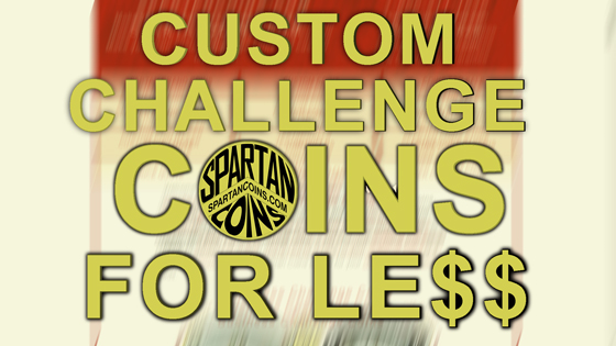 custom challenge coins for less